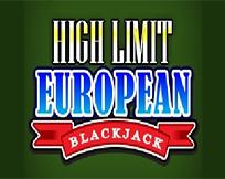 European Blackjack - High Limit